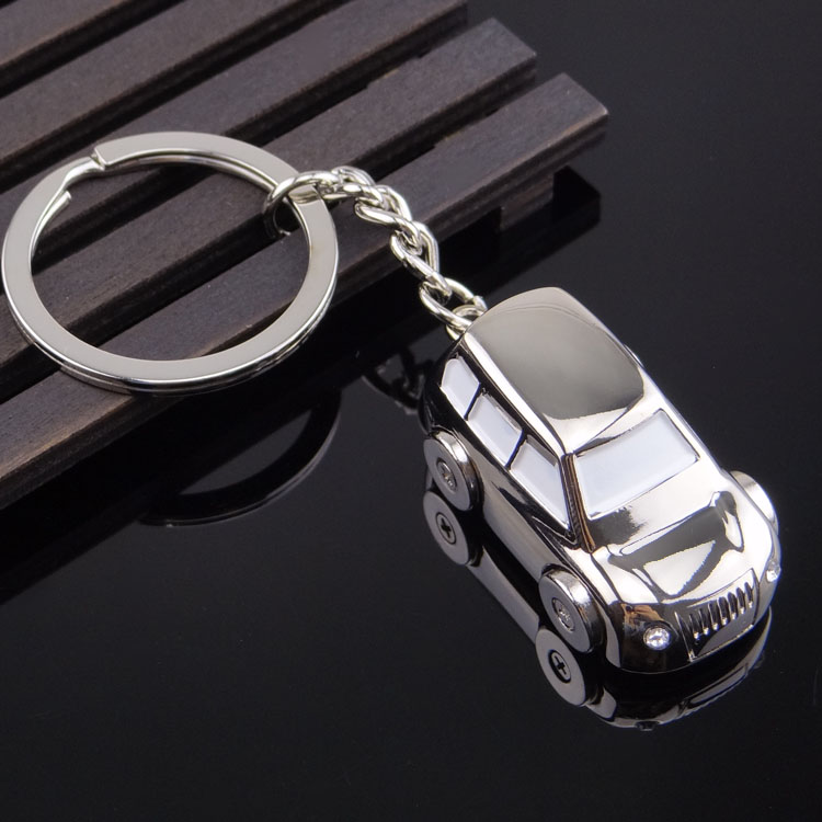 Metal Key Ring Vintage Car Shaped Vehicle Key Chain Keyring KeyFob Pendant  Decoration Creative Gift 07a1f1cebfe6