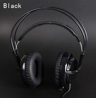 Black Headset New Headphones Steelseries Siberia V2 Brand Noise Isolating Game Headphones For Headphone Gamer Extension