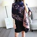 Tampa Floral Multiduty Phocho Cachecol Direto Da Fábrica Venda Quente Cachecóis Wraps Foulard Femme Cachecol Marca De Luxo Frete Grátis
