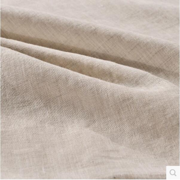 wangzhi Bed Sheet Set  Linen Bedding  Wrinkle, Fade, Stain Resistant - Home Textile - Photo 4