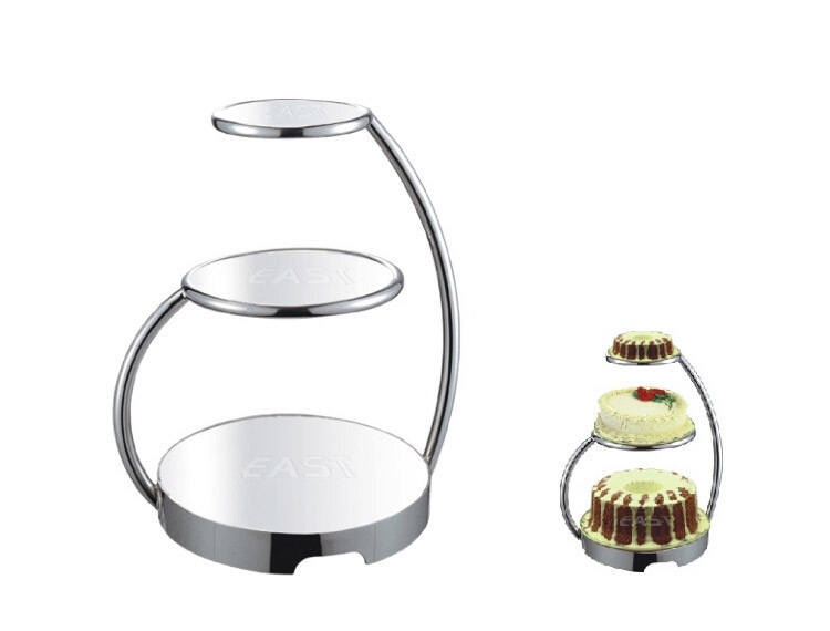 Stainless steel cake stand wedding