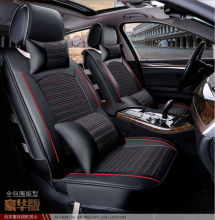 car seat cushion set pu leather summer cooling safe covers mats healthy for Citroen QUATRE Triomphe elysee Picasso C2 C4 C5 C4L