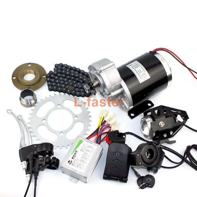 Electric Motor Kit For Trike: 36V48V 600W Electric Trike Brushed Conversion Kit With