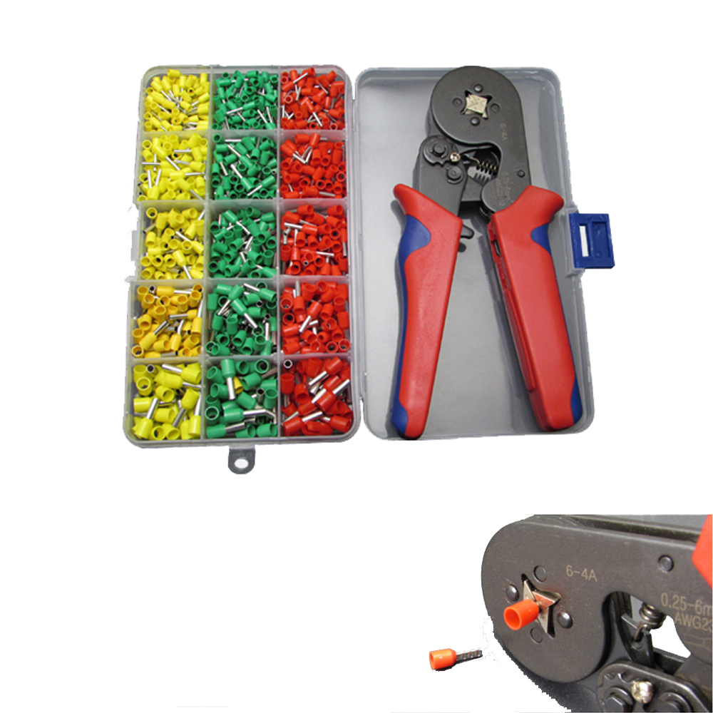 990pc Tube Ends Terminals Assortment Kit Ferrule Terminals Crimper Crimping Tool990pc Tube Ends Terminals Assortment Kit Ferrule Terminals Crimper Crimping Tool