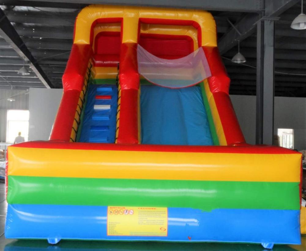 Inflatable slide bouncer inflatable dry outdoor and safe for children