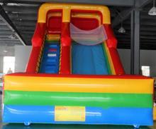 Inflatable slide bouncer inflatable dry slide outdoor and safe inflatable slide for children promotional commercial pvc inflatable dry slide for children