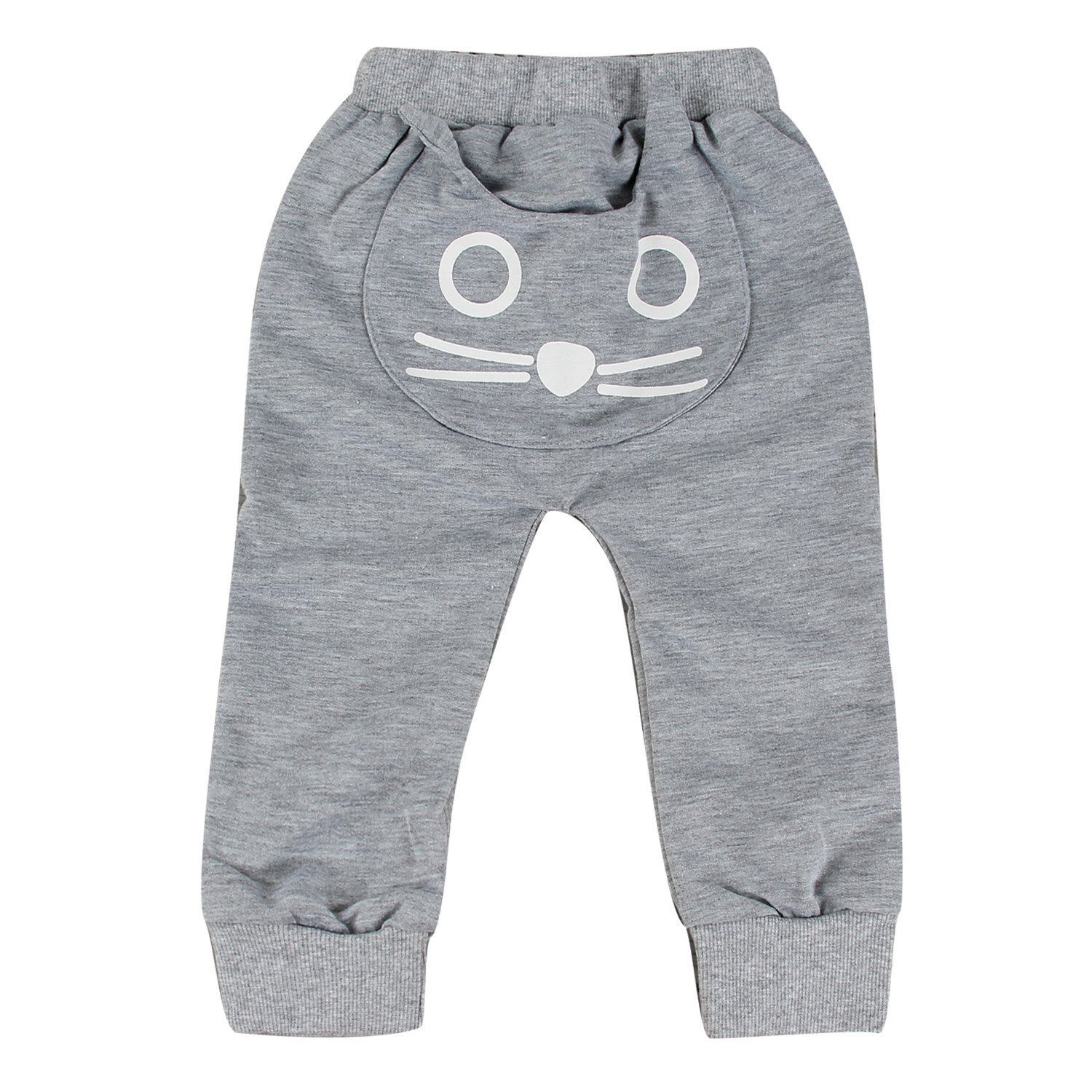 2017 Fashion Toddler Infant Kids Baby Boy Girl Cat Harem Pants Trousers Leggings Bottoms toddler pants купить в Москве 2019