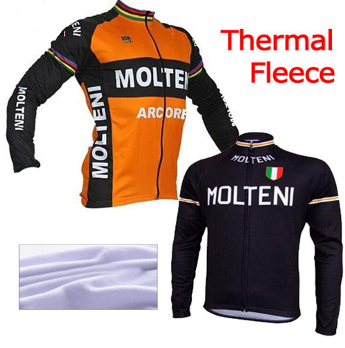 Molteni Ropa ciclismo hombre invierno winter thermo-fleece lange radtrikot maillot nur 2016 mtb kleidung #85