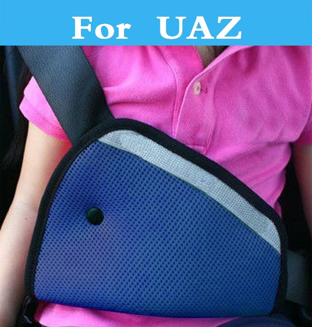 Triangle Car Safety Belt Pad Kids Safety Belt Protector Strap For UAZ Patriot 31512 3153 3159 3162 Simbir 469 Hunter