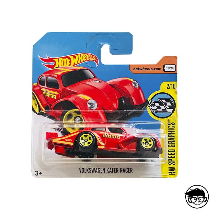 Hot Wheels Momo Volkswagen Käfer Racer HW Speed Graphics 56/365 2017 short card* image