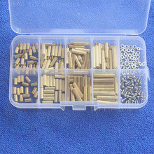 High Quality 240Pcs/M2 PCB  Male-Female Brass Standoff Spacer Board  Screws Nut Assortment   kit set
