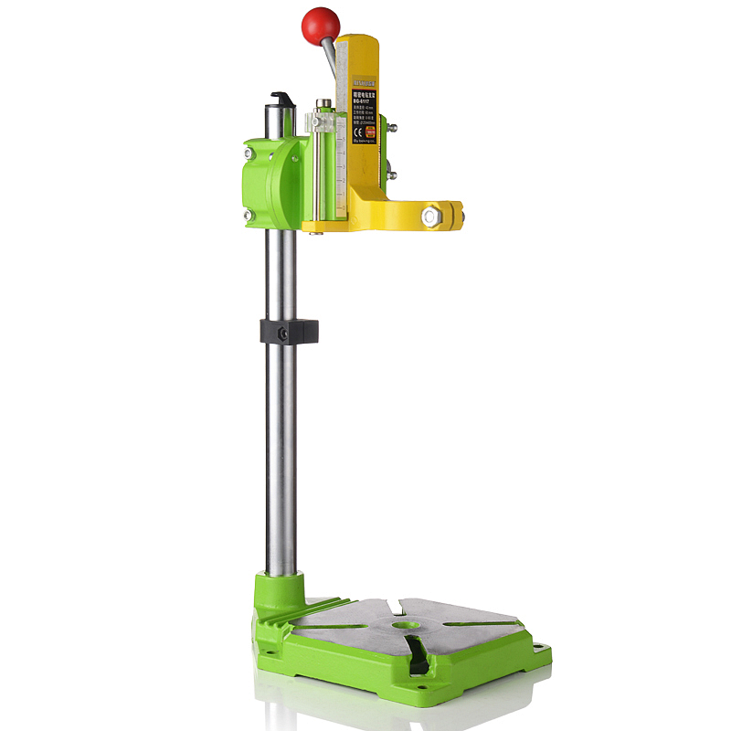 Precision Electric Drill Stand Power Rotary Tools Bench Drill Accessories Multifunction Fixed Bracket Base Woodworking Tools