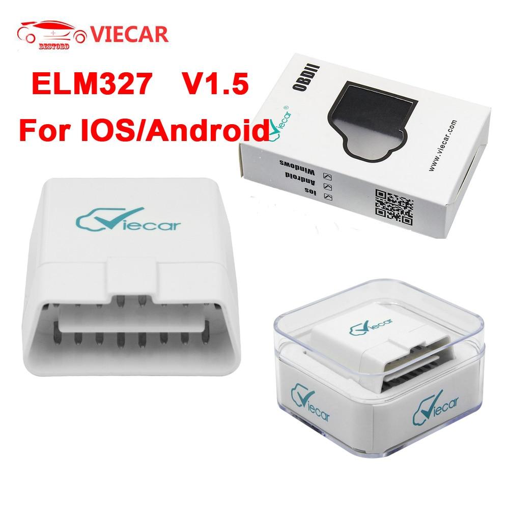 Viecar 4 0 Bluetooth Obd2 Bluetooth In Ear Headphones Kickstarter Jbl Pulse 3 Bluetooth Speaker 1px7 Bluetooth Adapter V4: ELM327 V1.5 Bluetooth 4.0 Viecar For IOS Android Window