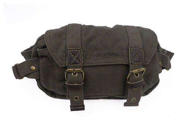 FREE SHIPPING! unisex canvas waist packs fashion waist pouch waist bag belt bag Sport Pouch leisure bag 010-2 army green