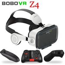 Original BOBOVR Z4 Headset version Virtual Reality 3D VR Glasses cardboard bobo vr z4 for 3.5 – 6.0 inch smartphones Immersive
