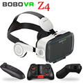 Original BOBOVR Z4 Leather Virtual Reality VR Glasses Headset 3D Cardboard Helmet Stereo Box BOBO VR for 4-6' Smart Phone