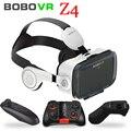 Original BOBOVR Z4 de realidad Virtual vasos auriculares gafas 3D cartón casco estéreo caja BOBO VR para 4-6 inteligente teléfono