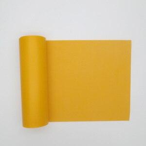 Image 5 - GZK China good quality roll rubber orange color flat rubber bands 200cm*15cm*0.66mm 0.72mm 0.8mm   for DIY slingshot huinting