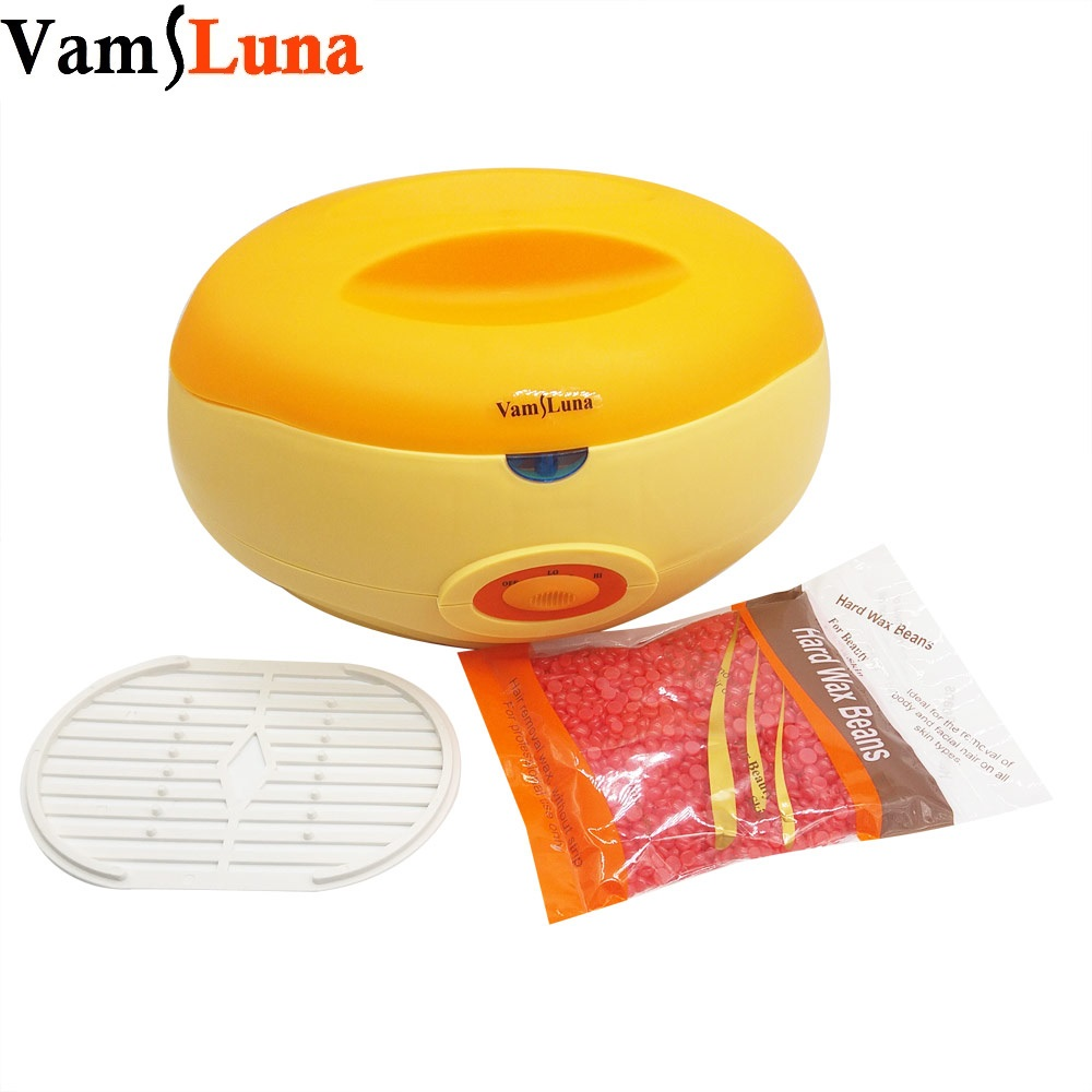 Paraffin Wax Warmer Pot 2200ML With 300G Wax Bean - Thermal Paraffin Bath Heat Therapy Face, Hand, Foot & Hair Removal gigi digital paraffin warmer with steel bowl