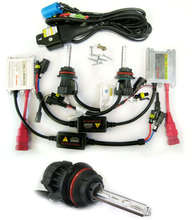 35W 12V Car Hid Xenon Conversion Kit Slim Ballast 9007 9007-3 4300K Beam Bulbs Lamp High Quality [C41]