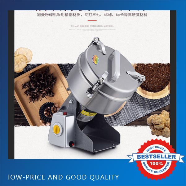 1000G Swing Martensitic Stainless steel Herb Grinder/ Food Grinding Machine/Coffe Grinder,Electric Flour Mill