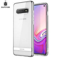 สำหรับ Samsung Galaxy S10 กรณี 6.1 นิ้ว SUPCASE UB Metro Premium Slim Soft TPU ชุบ Electroplated Line ป้องกันกรณีฝาครอบ
