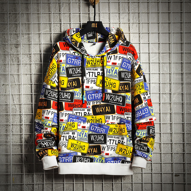 COOL LETTLE PATCHWORK HOODIE (2 VARIAN)