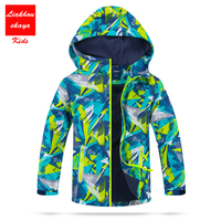 2017 Fashion Children S Winter Jackets For Boys Outerwear Polar Fleece Kids Sporty Clothes Waterproof Windproof