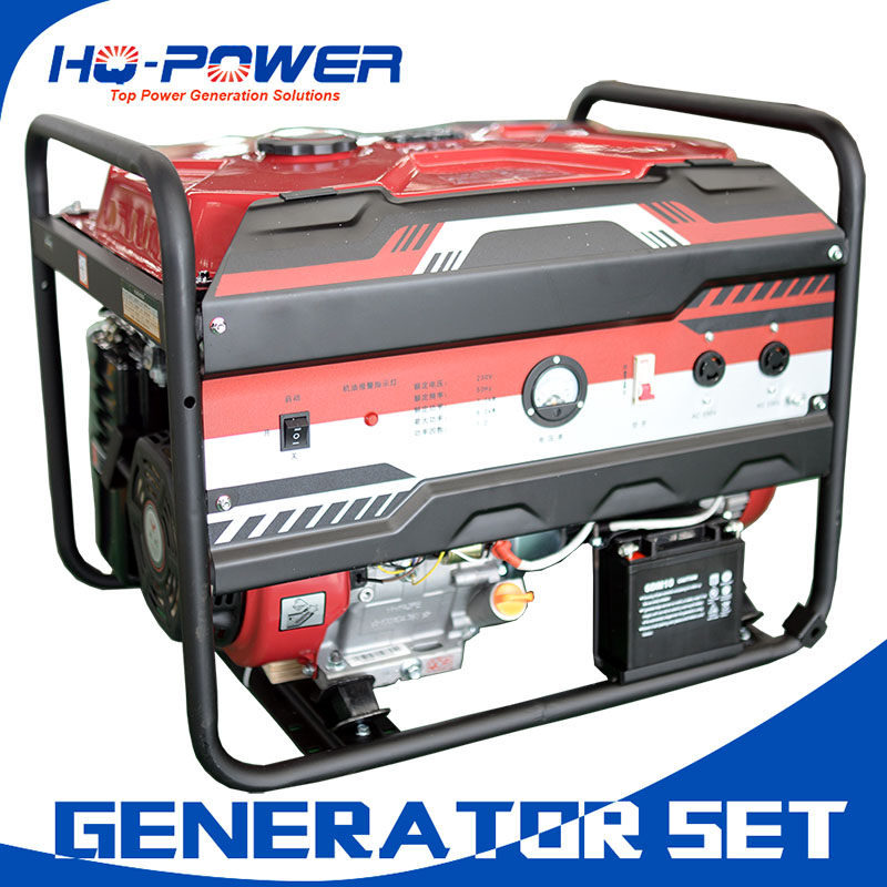 8kw 10kva aircooled portable gasoline engine generator