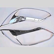 Для Ford Focus 3 MK3 2012 2013 2014 Фары для автомобиля крышка головки свет лампы Отделка Chrome украшение автомобиля-Стайлинг автомобиля обложки Интимные аксессуары