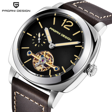 2018 PAGANI DESIGN Top Brand  Luxury Mens Automatic Mechanical Watch Leather Military Waterproof Clock Relogio Masculino