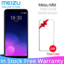 Resmi Meizu M6T 6 T Küresel Sürüm 3 GB RAM 32 GB ROM Cep Telefonu MTK6750 Octa Çekirdek 5.7
