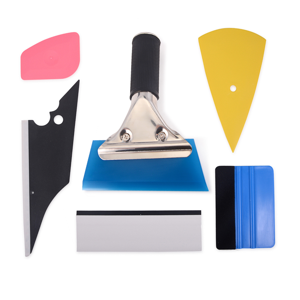 6PCS Vinyl Wrapping Stickers /& Decals Application Squeegee Window Tint Tools USA