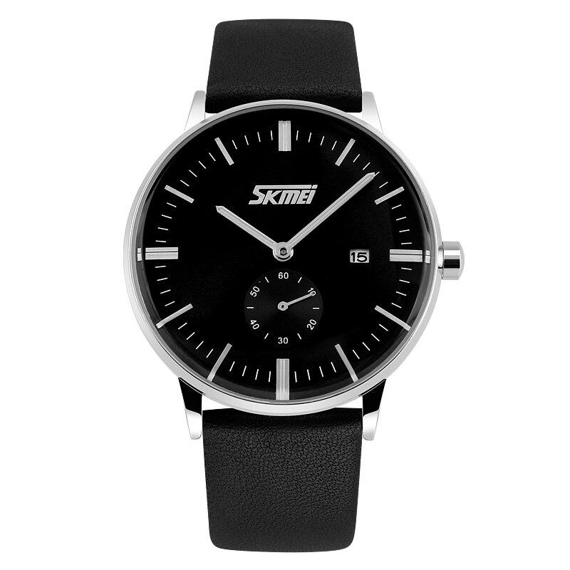 291cd93f74b SKMEI 9083 Relógios Homens Clássico Relógio de Quartzo Relógio ...
