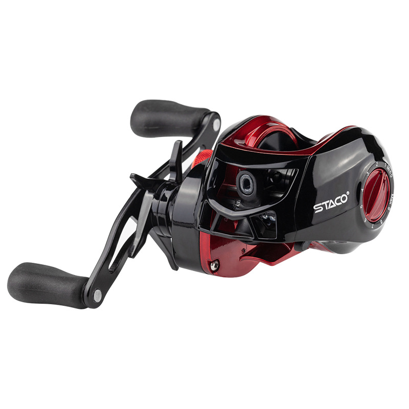 Image 2 - Deshion 17+1BB High Speed Black Baitcasting Fishing Reel Affordable Fishing Baitcasting Reel Left Hand / Right Hand 4.5KG Drag-in Fishing Reels from Sports & Entertainment