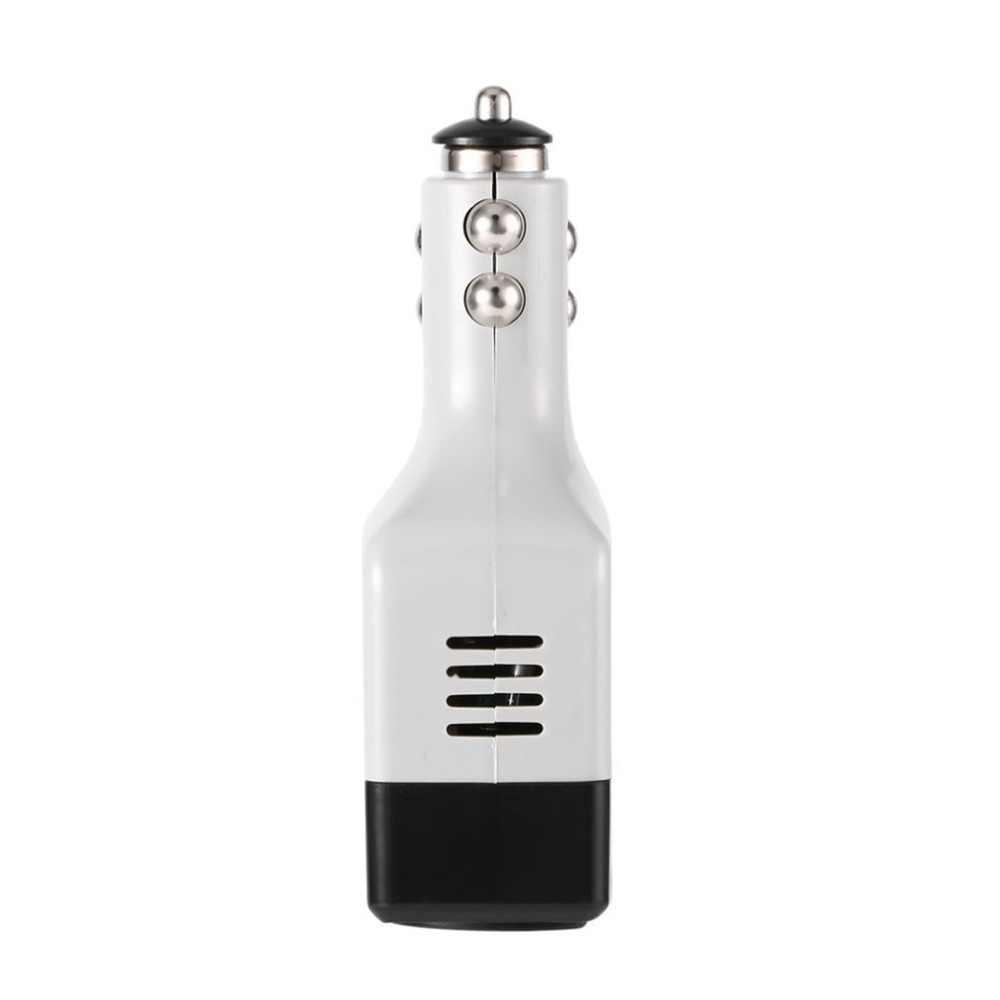 DC 12/24 V إلى AC 220 V/USB 6 V محول طاقة السيارة محول المحمول السيارات الطاقة شاحن سيارة محول مع USB واجهة