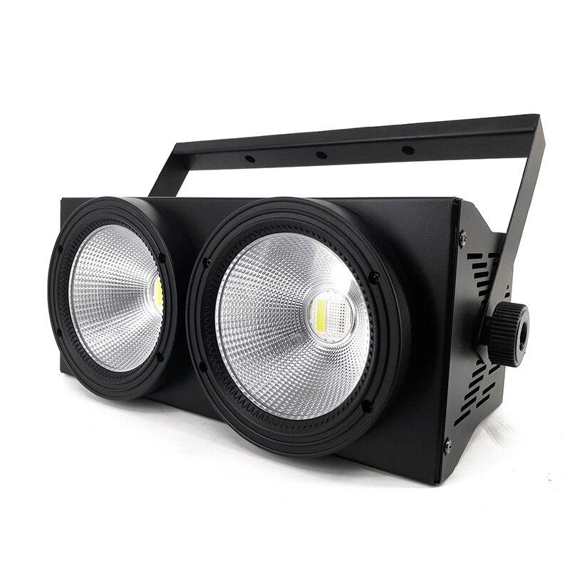 2eyes 2x100w LED COB Light DMX Stage Lighting Effect Led Blinder Light ,Cool White And Warm White