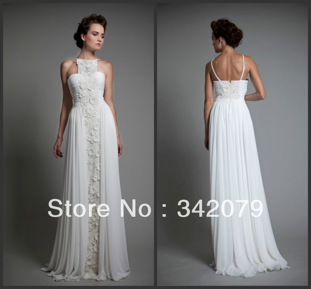 Ph09513 haute couture tony ward wedding dress silk for Silk georgette wedding dress