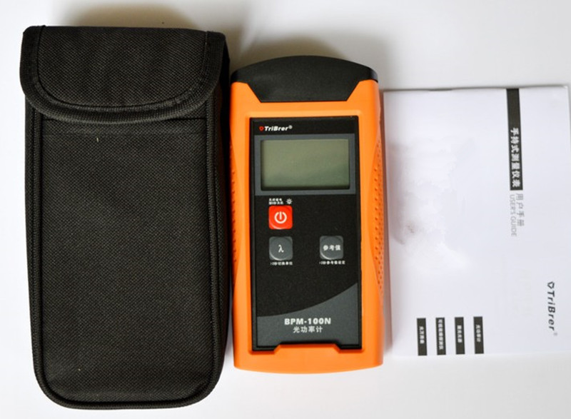 Handheld Optical Power Meter Tribrer BPM-100NT -70~+8dB 6 Wavelength Used in FTTx FTTH Optic Test футболка с полной запечаткой для мальчиков printio сурикаты