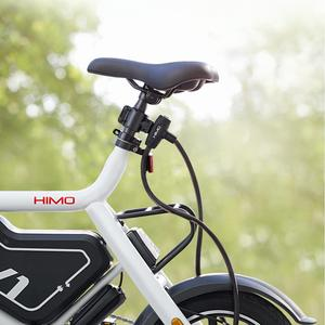 Image 4 - HOT HIMO L150 Portable Folding Cable Lock Electric Bicycle Lockstitch from Youpin smart home kit