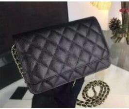 Здесь продается  classic style women fashion brand caviar wallets on chain woc bags women messenger bags crossbody clutch  Камера и Сумки