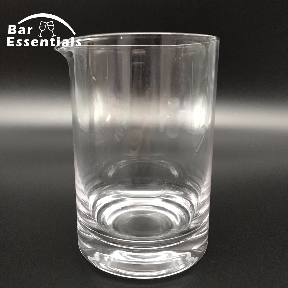 Free Shipping Premium 6 Piece Bar Set Boston Cocktail Shaker Bartending Set Including Mixing Glass - 6