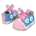2016 Nuevo Estilo Bebé Recién Nacido Niños Unisex Niños Niñas Niño Niños Prewalker Shoes Infant Toddler Clásico Ocio Mocasín Zapatos de Suela Blanda