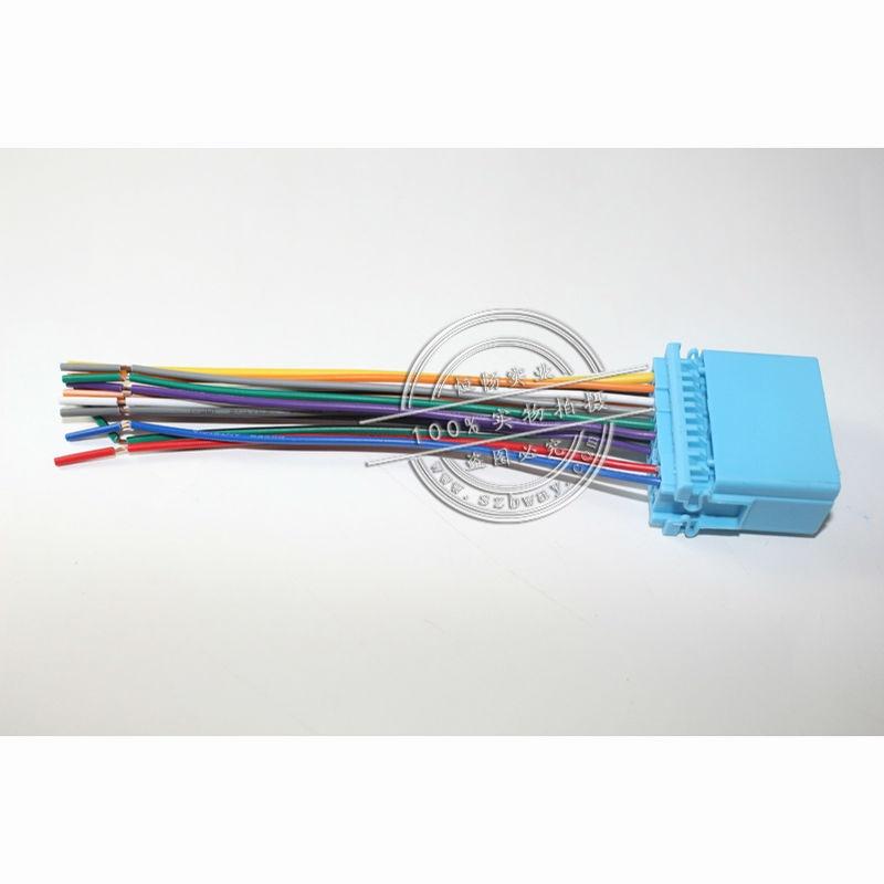 car stereo female iso radio plug power adapter wiring harness rh aliexpress com Aftermarket Radio Harness Radio Wiring Harness Kits