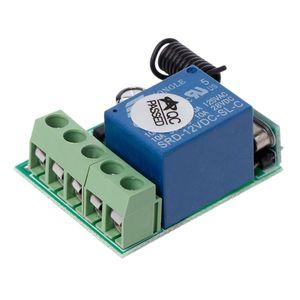 Image 2 - Беспроводной коммутатор с дистанционным управлением, 12 В, 315 МГц, 1CH, релейный модуль приемника, радиочастотный передатчик, ян 12