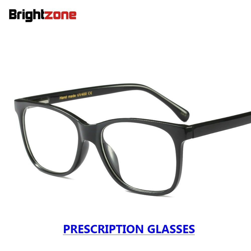 8f8cd086597 Detail Feedback Questions about Brightzone European American Style Big Size  Unisex Full Rim Spring Hinge Black Prescription Glasses Eyeglasses Oculos60  15 ...
