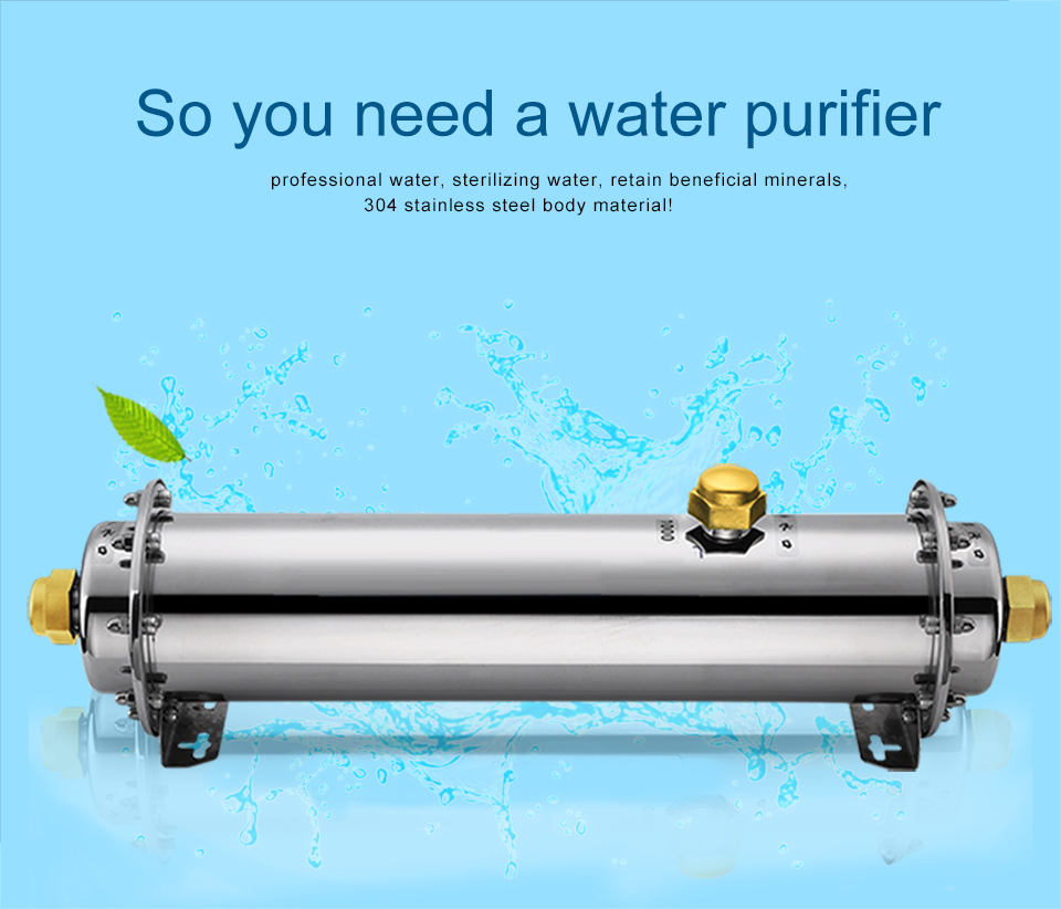 Factory EIREE 1000L/H UF Water Purifier