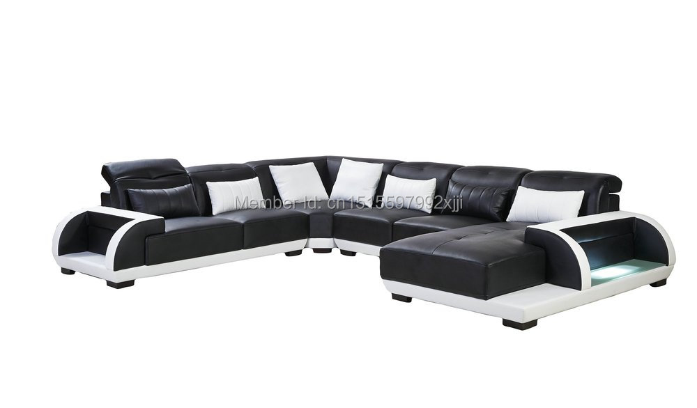 US $1780.0 |Beanbag Sectional Sofa Chaise In Muebles Bean Bag Chair Modern  Design Leather Sofa Sectional Home Furniture Iiving Room Set-in Living Room  ...