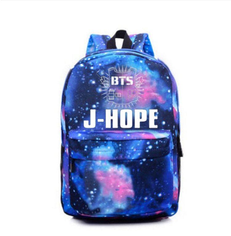 2017 Korean BTS Backpacks For Teenage Girls Star backpack Fashion Kpop Bag Mochila Bts Escolar Feminina Escolares Adolescentes bts the best of bts korean edition limited edition release date 2017 01 06