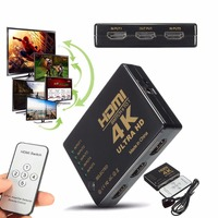 5 Port HDMI Splitter With Remote Control 1 In 5 HDMI 5 To 1 Switch 4K